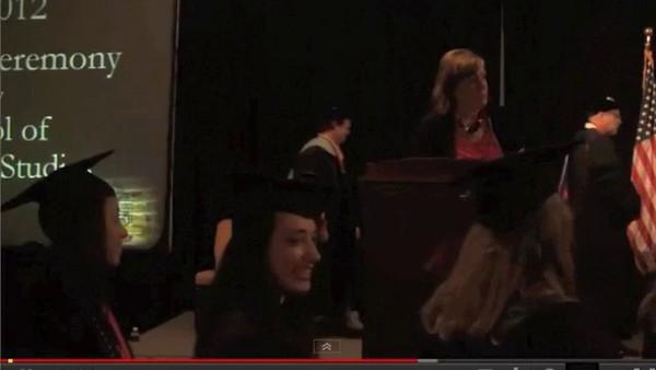 Brooke's 2012 OSU Graduation Hooding