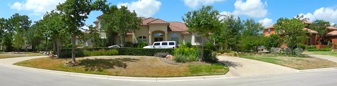 Front of our Home During the 2011 Drought