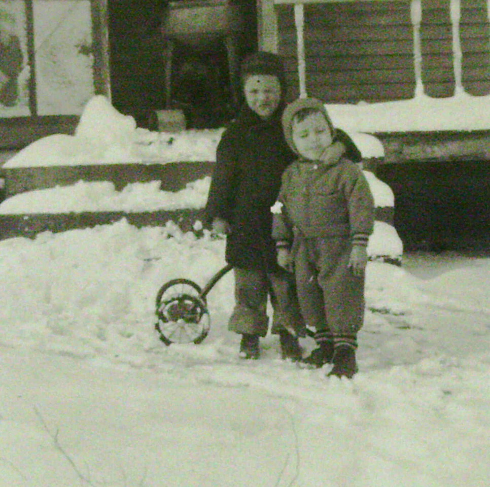Pete and Cyril Lanie -- taken in 1940