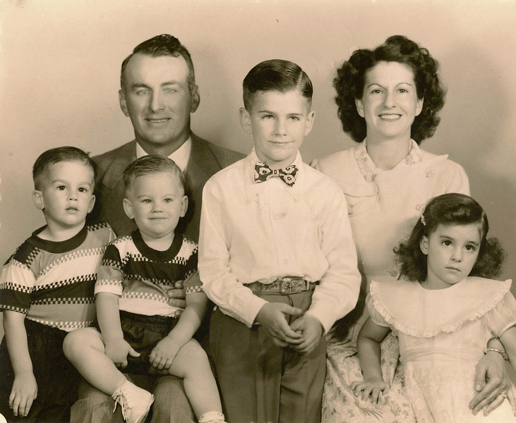 Paul Lanie Family -- Early years before Debbie and Nancy
