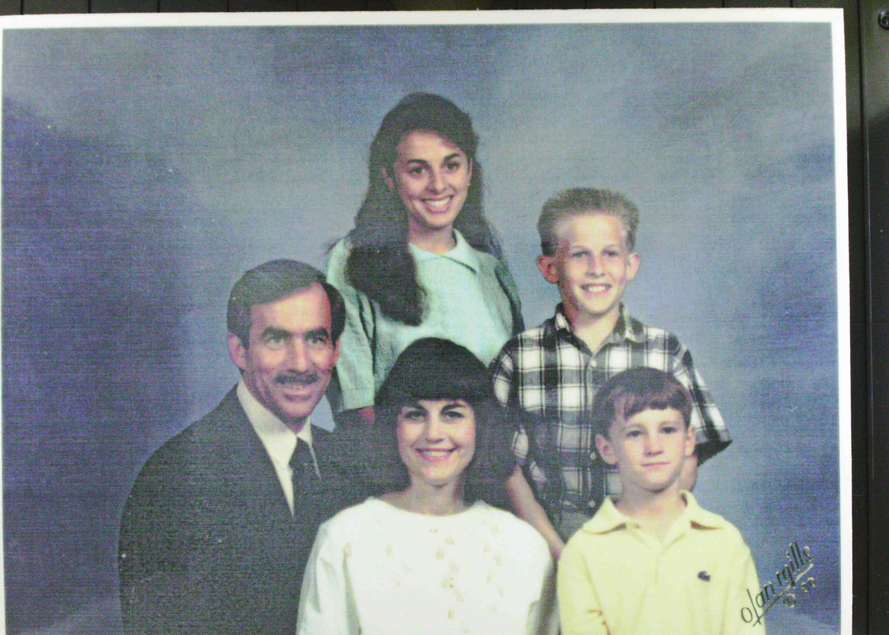 Dan and Nancy with family