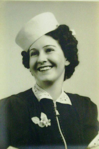 Bessie Lanie -- taken in Sacramento in 1944