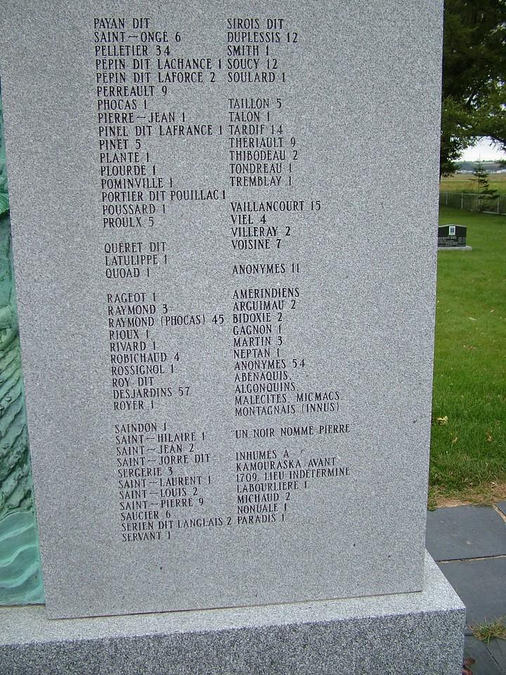 Additional Kamouska Pioneer monument photo