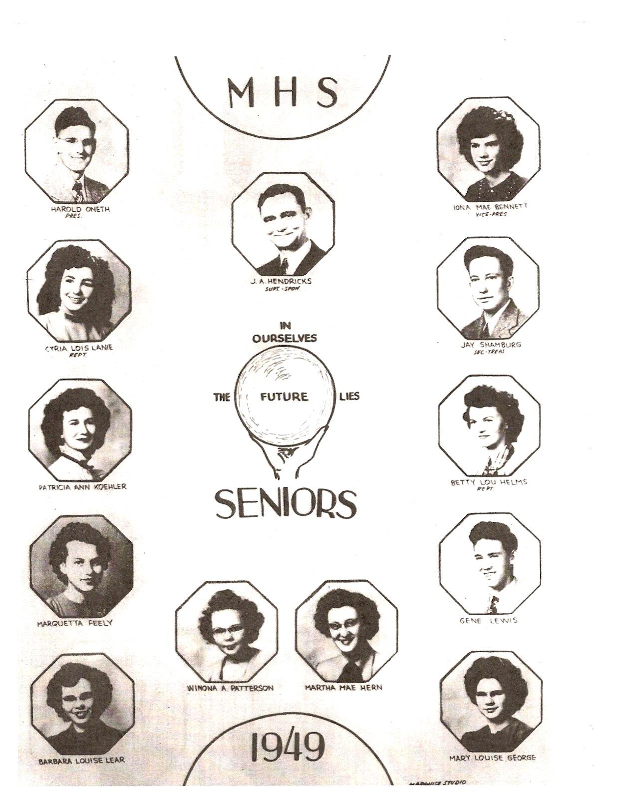 Lois Lanie Senior Class