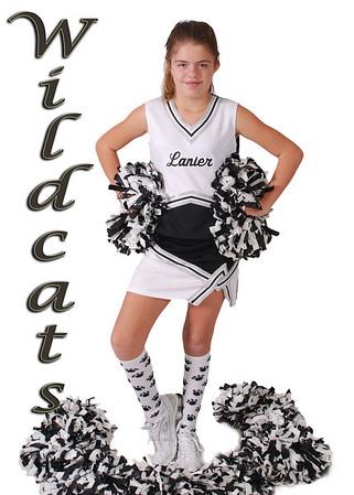 Lanier Cheerleaders 2010