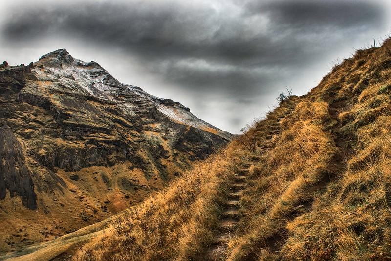 Iceland Sod Stairway