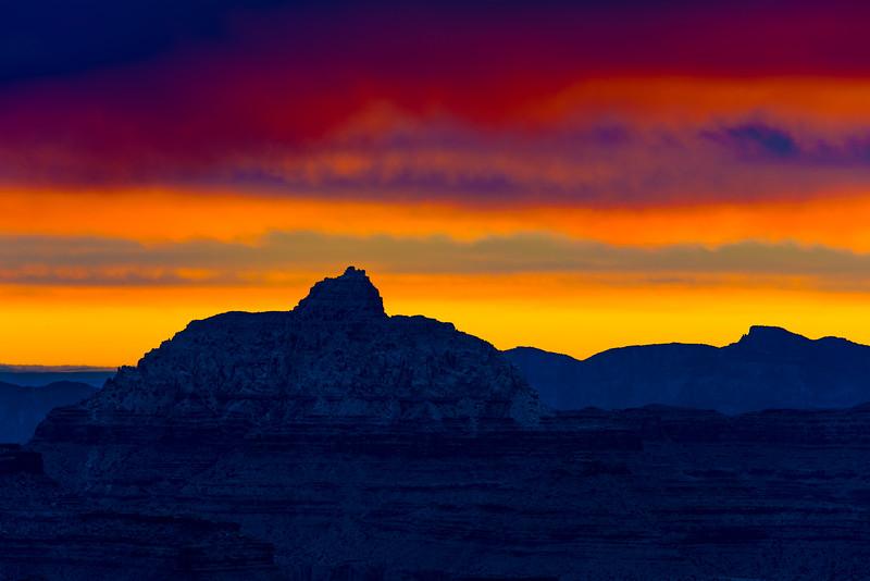 Mather Point Sunrise