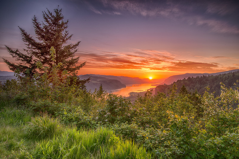 Vista house Sunrise