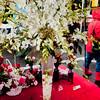 A beautiful flower arrangement from Bonnie's Wonder Garden, at the Lansdowne Winter Markets