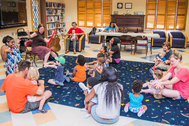 Miss Joy Sings at the Lansdowne Library