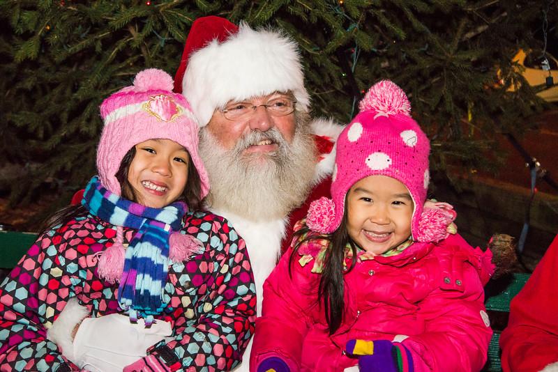 2013 Santa Visits Lansdowne, Tree Lighting