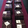 MARK ROBARGE - MROBARGE@TROYRECORD.COM<br /> Diplomas for more than 160 members of the Class of 2017 are laid out prior to Lansingburgh High School's 115th Commencement on Friday night.