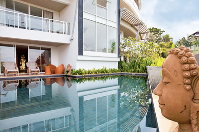 Two bedroom Lanta Loft 3B  Luxury Apartment sHARED pool,Long Beach, Ko Lanta