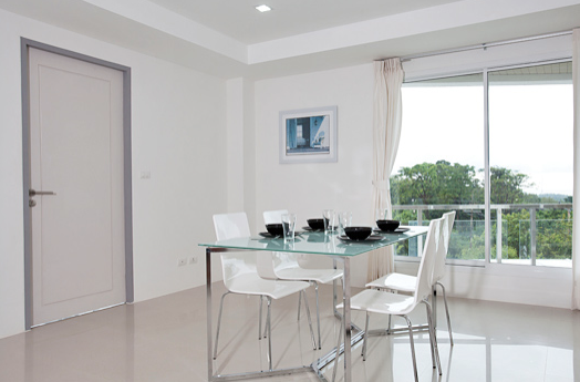 Two bedroom Lanta Loft 3B  Luxury Apartment Dining table,Long Beach, Ko Lanta