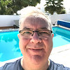 Me with the pool behind