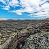 Lanzarote - Lavafelder in der Caldera Blanca