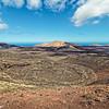 Lanzarote - Vulkanische Landschaft im National Park Timanfaya