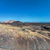 Lanzarote -Lavalandschaft im Nationalpark Timanfaya