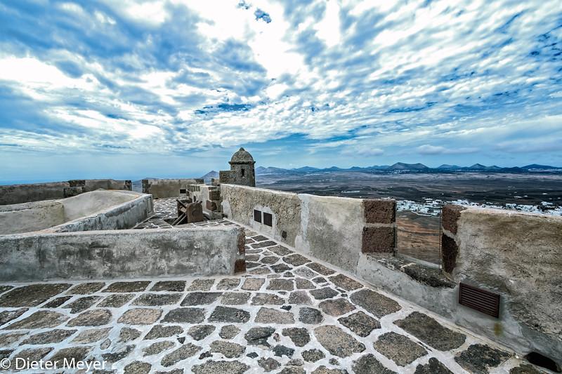 Lanzarote - Castillo de Santa Bárbara