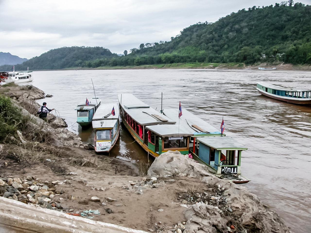 Mekong River, Luang Prabang, Laos