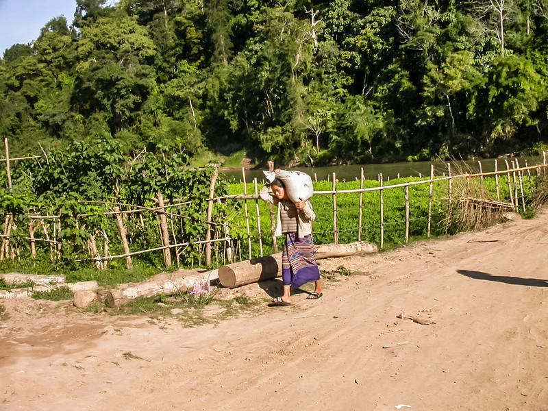 Villages near Luang Prabang, Laos 2002
