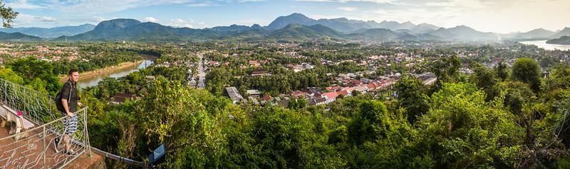 Panorama of Luang Prabang