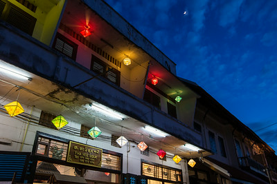 Colorful lanterns in Luang Prabang