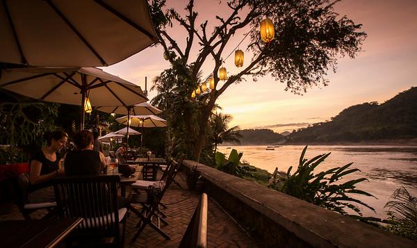 Sunset by the Mekong, Luang Prabang