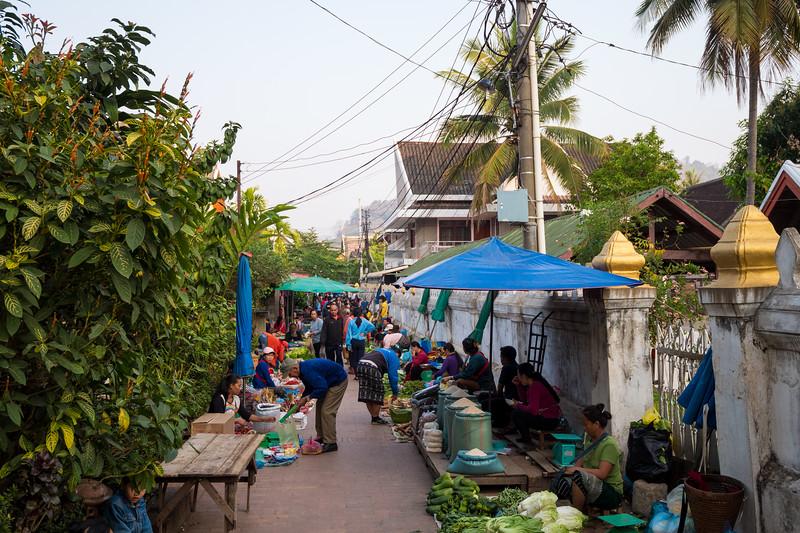 琅勃拉邦市场