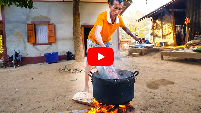 老挝乡村食品