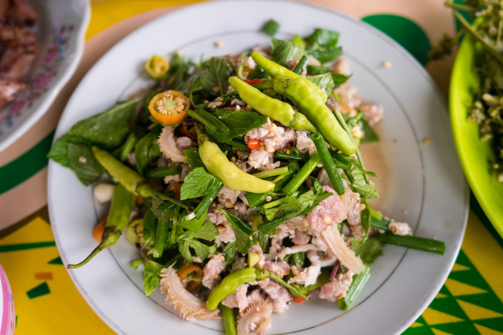 Lao food