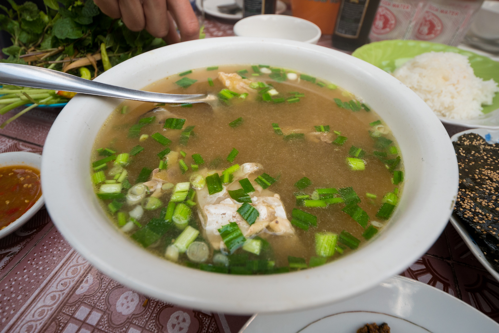 Hot and Sour Laos Fish Soup