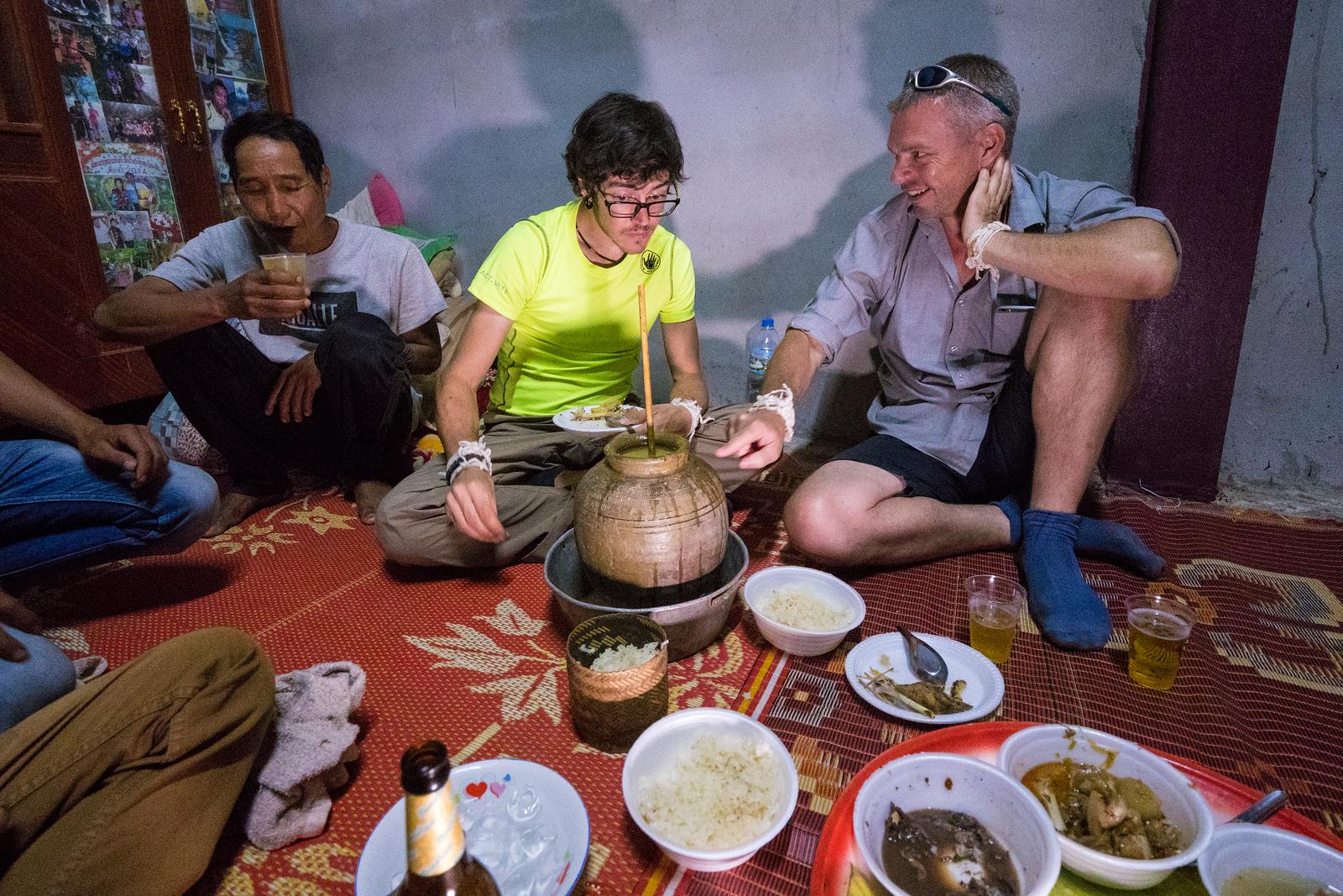 khmu人有效利用水稻的快速发酵能力