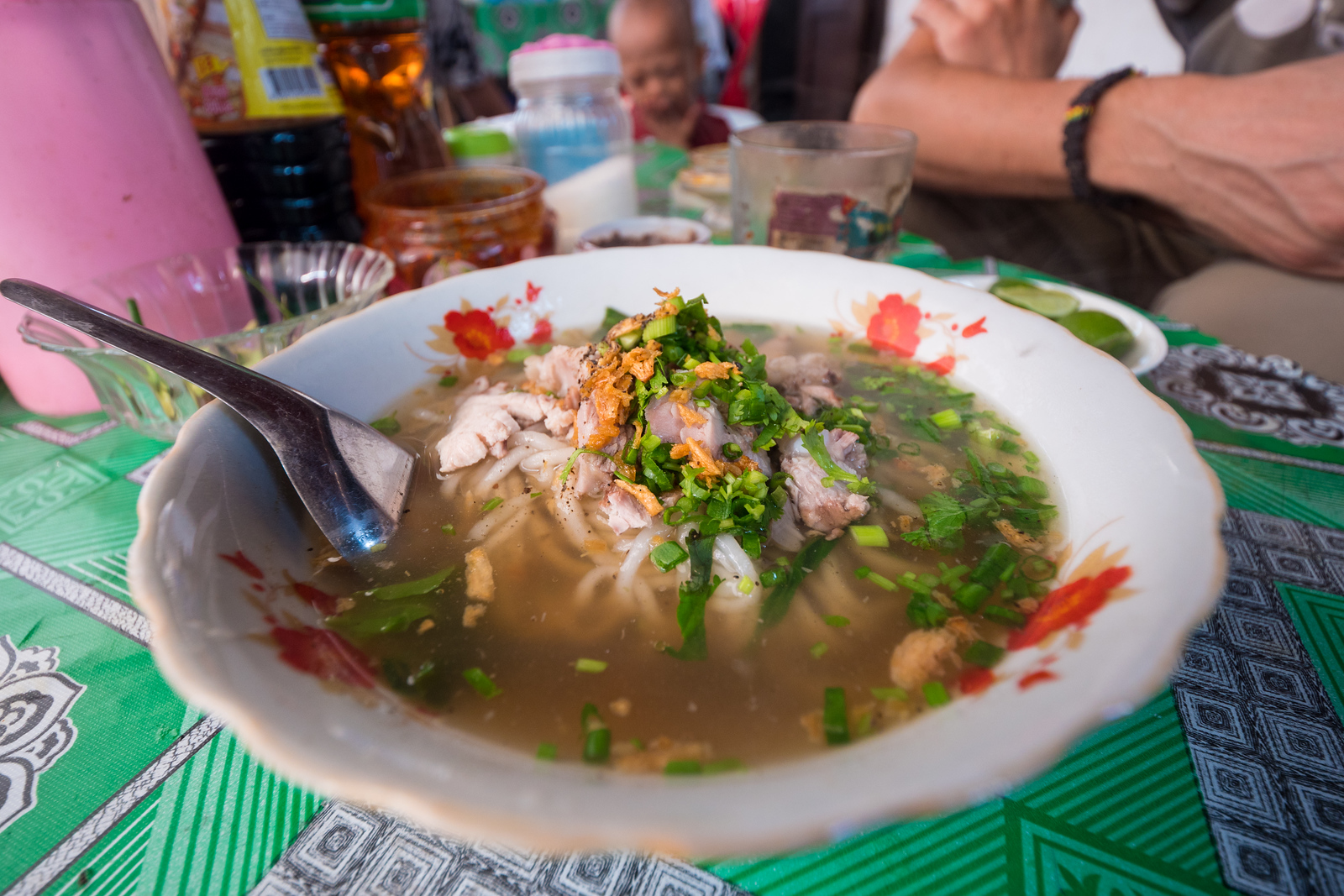 Khao Piak Sen at the Morning Market in Luang Prabang