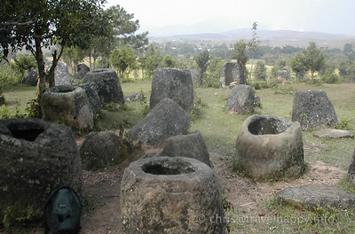 The Plain Of Jars, Laos, image copyright Chris Mitchell