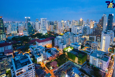 Living In Bangkok, image copyright Ben Reeves