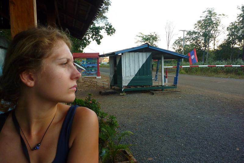 Granica z Laose