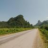 Approaching Vang Vieng