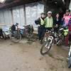 Getting ready to leave Kiewkacham with fellow riders Wisit and Anosorn