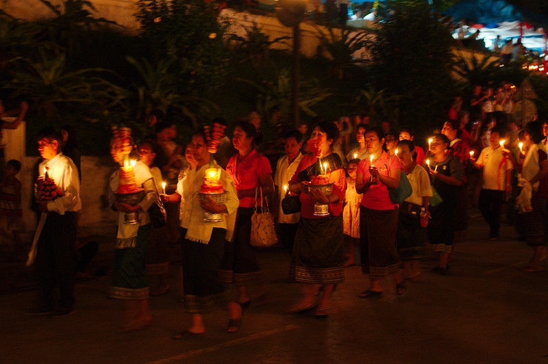 The festival procession