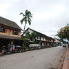 The famous colonial architecture of Luang Prabang