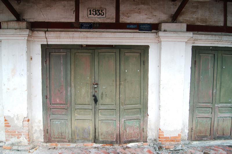 Luang Prabang colonial architecture