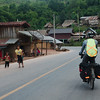 Through another lovely Northern Laos village