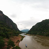 The Nam Ou River at Nong Khiaw