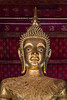 Head of Buddha, Wat Mai temple, Luang Prabang, Laos