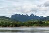 Mekong River near Pak Ou Buddhist Cave, Laos