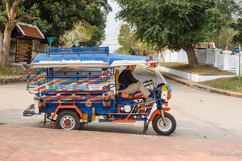 Colorful Tuk-Tuks of Luang Prabang