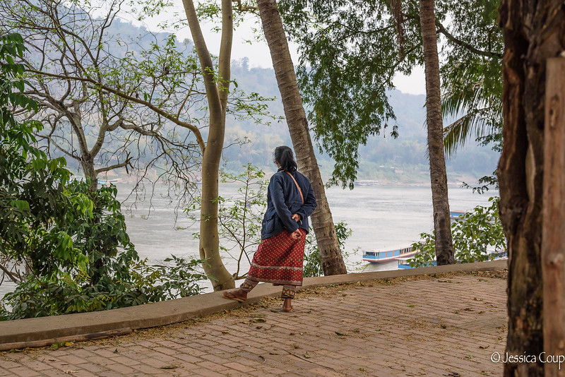 Overlooking the Mekong River