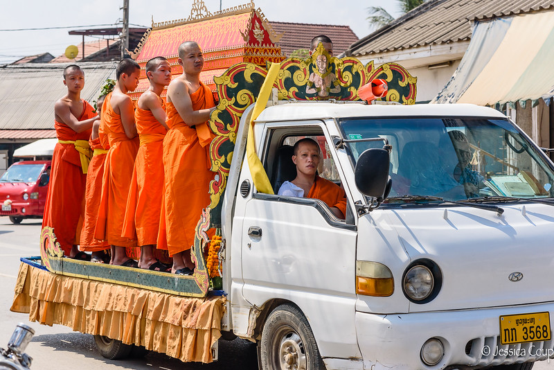 Monk Funeral