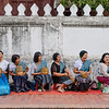 Ladies Waiting to Give out the Alms